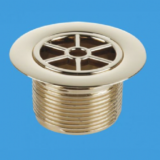 "McAlpine 1½"" Standard Waste - 70mm Gold Plated Plastic - (STW70GP)"